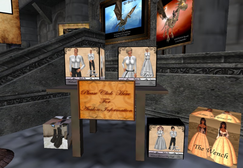 Avalon - online RPG adventure in Second Life® - Advertising Services