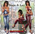 Denim & Lace Outfit